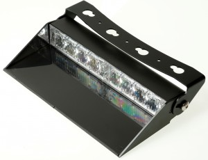 8 LED dash light biała