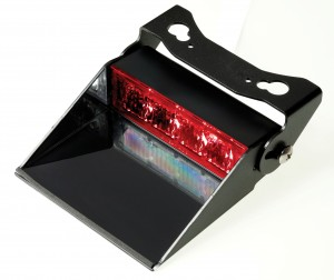 4 LED dash light czerwona