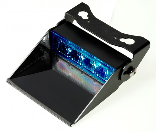 4 LED dash light niebieska